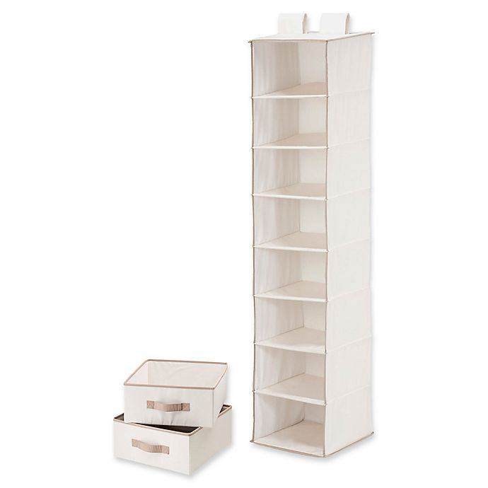 Alternate image 1 for Honey-Can-Do® 8-Shelf Organizer with 2 Drawers