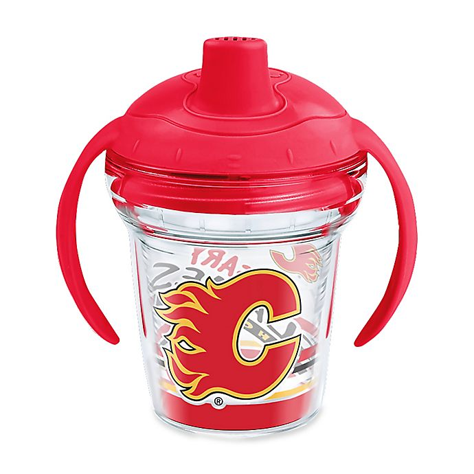 Alternate image 1 for Tervis® NHL Calgary Flames Lil Fan 6 oz. Sippy Cup with Lid