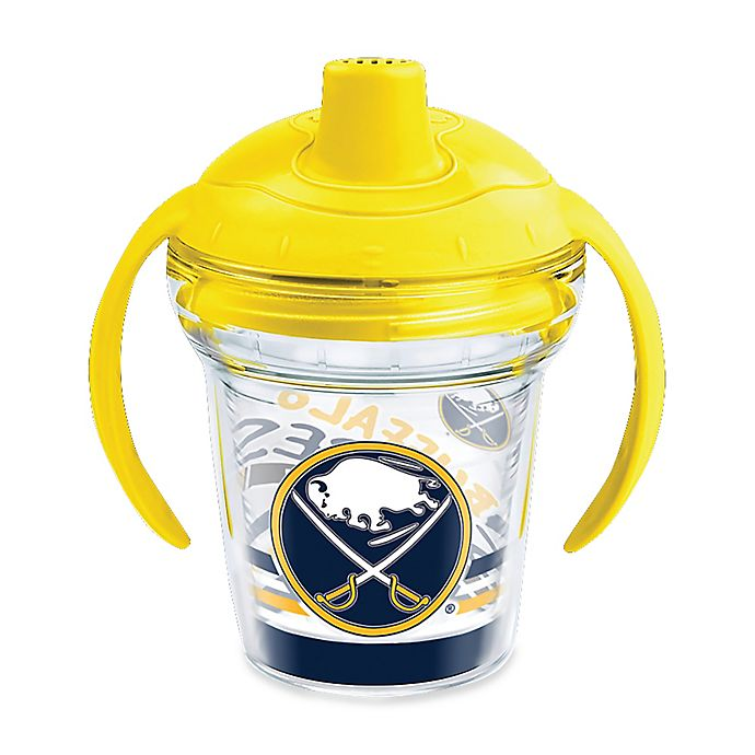 Alternate image 1 for Tervis® NHL Buffalo Sabres Lil Fan 6 oz. Sippy Cup with Lid