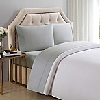 Charisma® Solid 510-Thread-Count King Sheet Set in Ghost Grey