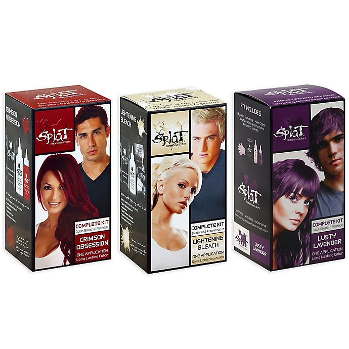 Alternate image 1 for Splat® Rebellious Colors Complete Hair Color Kit Collection