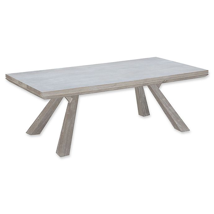 Bed Bath And Beyond Beaumont: Zuo® Beaumont Rectangular Coffee Table In Acacia
