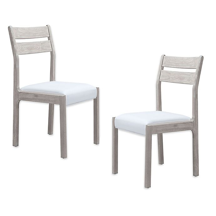 Bed Bath And Beyond Beaumont: Zuo® Beaumont Dining Chairs In Acacia (Set Of 2)