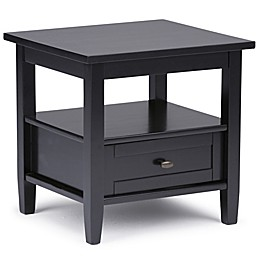 Simpli Home Warm Shaker 20-Inch End Table