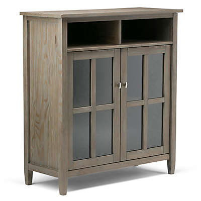 Simpli Home Warm Shaker Storage and Media Cabinet