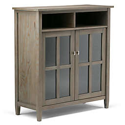 Simpli Home Warm Shaker Storage and Media Cabinet