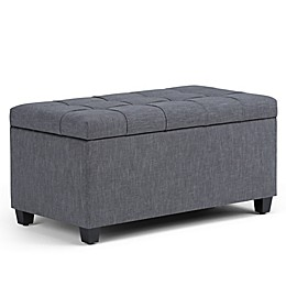 Simpli Home Sienna Storage Bench