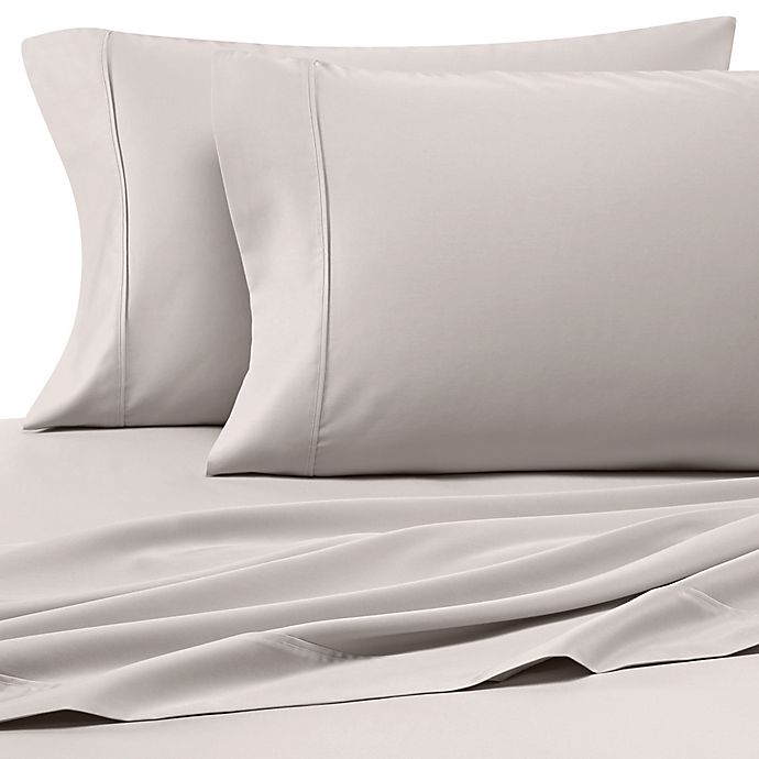 Alternate image 1 for Heartland® HomeGrown™400-Thread-Count Solid Sateen Twin Sheet Set in Ivory
