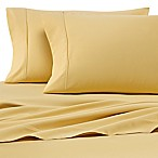Heartland® HomeGrown™ 400-Thread-Count Solid Sateen Full Sheet Set in Yellow