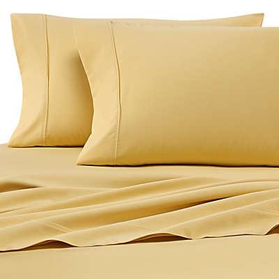 Heartland® HomeGrown™ 400-Thread-Count Solid Sateen Sheet Set