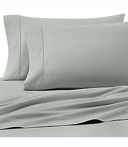 Set de sábanas individuales Heartland® HomeGrown™ de satén liso de 400 hilos en menta