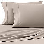 Heartland® HomeGrown™ 400-Thread-Count Solid Sateen King Sheet Set in Stone