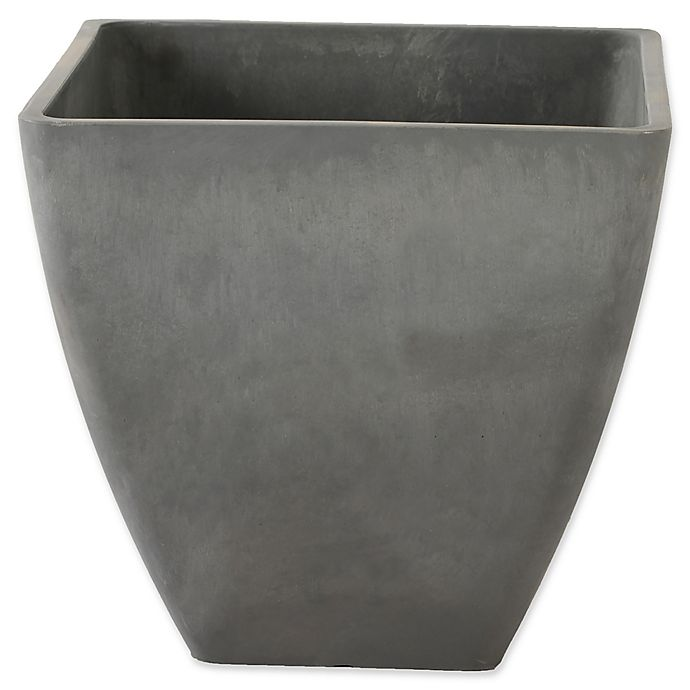 Alternate image 1 for Arcadia Garden Simplicity Square Planter