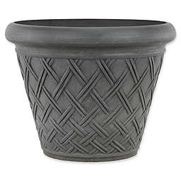 Arcadia Garden Products Basket Weave Pot