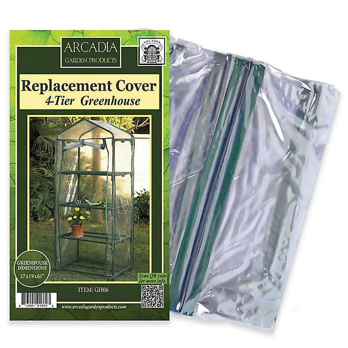 Alternate image 1 for Arcadia Garden Products Mini Greenhouse Replacement Cover