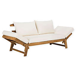 Safavieh Tandra Wood Outdoor Daybed