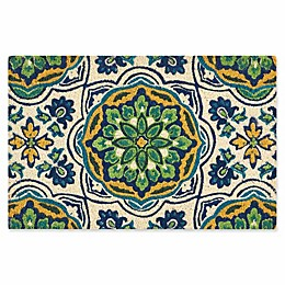 Nourison Waverly Greetings Tapestry Door Mat