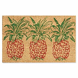 Nourison Waverly Greetings Pineapple Door Mat