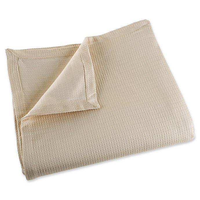 Alternate image 1 for Nottingham Home 100% Cotton King Blanket in Taupe