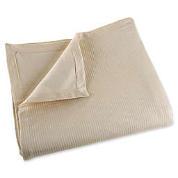 Nottingham Home 100% Cotton King Blanket in Taupe