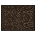 Mohawk Home Impressions Scroll 24-Inch x 36-Inch Utility Mat in Brown