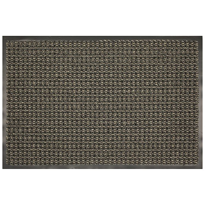 Alternate image 1 for Mohawk Home Tweed Walk Off 36-Inch x 48-Inch Mat in Charcoal