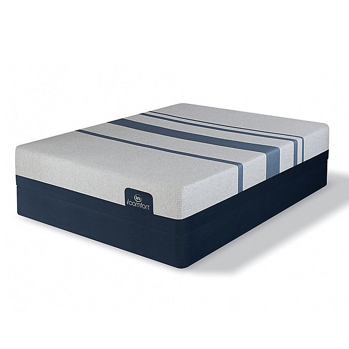 Alternate image 1 for Serta® iComfort® Blue 500 Plush Low Profile Queen Mattress Set