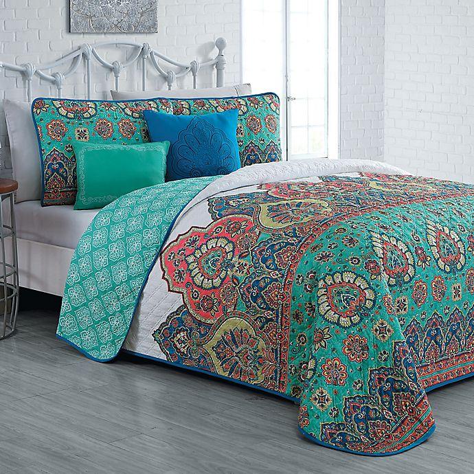 Alternate image 1 for Avondale Manor Livia Reversible Quilt Set