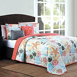 Heritage Bay Belize Reversible Quilt Set