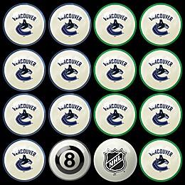 NHL Vancouver Canucks Home vs. Away Billiard Ball Set