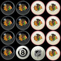 NHL Chicago Blackhawks Home vs. Away Billiard Ball Set
