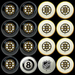 NHL Boston Bruins Home vs. Away Billiard Ball Set