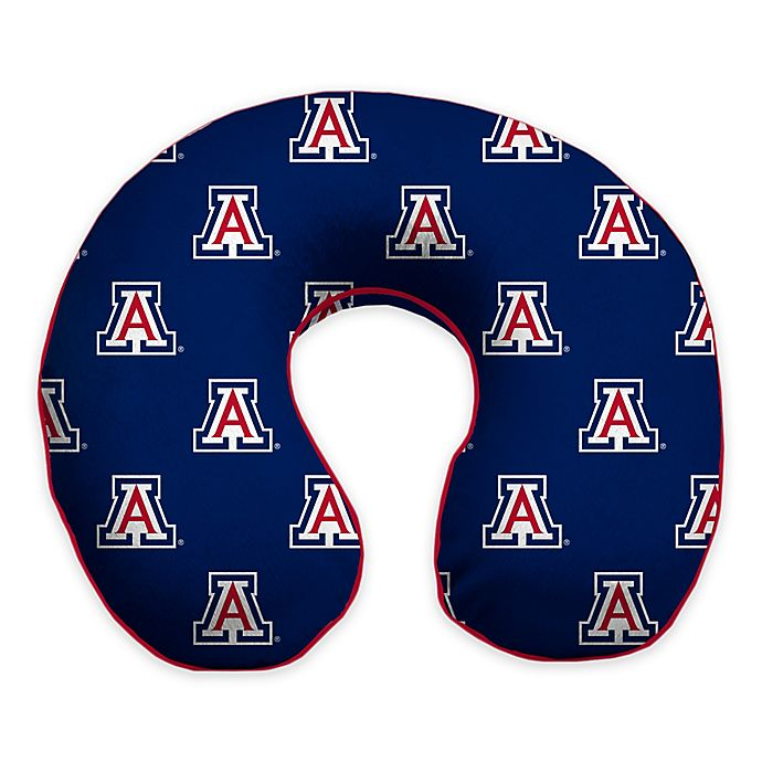 Alternate image 1 for University of Arizona Memory Foam Neck Pillow