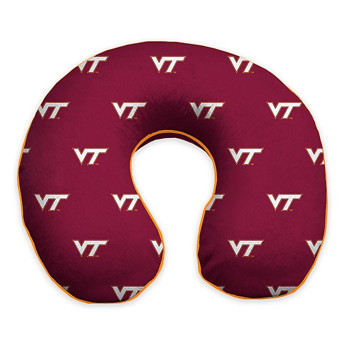 Alternate image 1 for Virginia Tech Memory Foam Neck Pillow