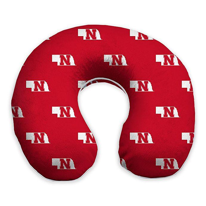 Alternate image 1 for University of Nebraska Memory Foam Neck Pillow