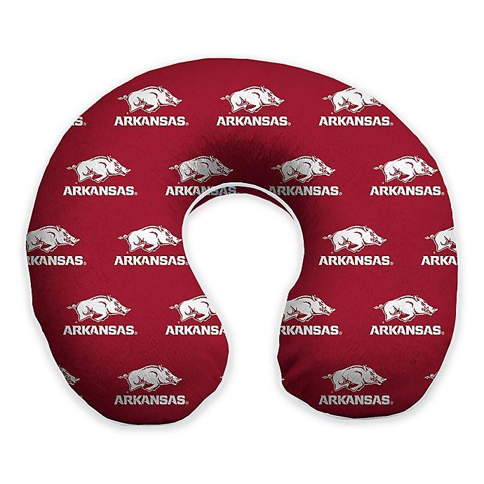 Alternate image 1 for University of Arkansas Memory Foam Neck Pillow