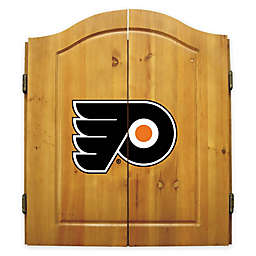 NHL Philadelphia Flyers Dart Cabinet Set
