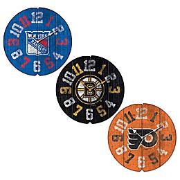 NHL Vintage Round Wall Clock