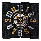 NHL Boston Bruins Vintage Square Wall Clock