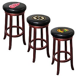 NHL Wooden Bar Stool Collection