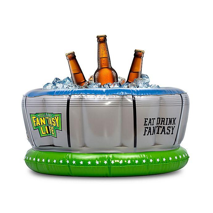 Alternate image 1 for Matthew Berry Inflatable Beer Cooler
