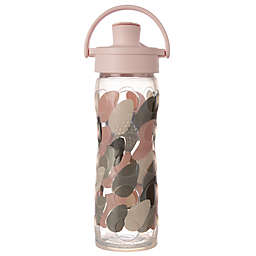 Lifefactory® 16 oz. Glass Water Bottle with Flip Cap in Blush