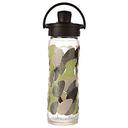 Lifefactory® 16 oz. Glass Water Bottle with Flip Cap in Green