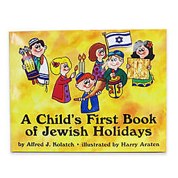 A Child's First Book of Jewish Holidays Hardcover Book