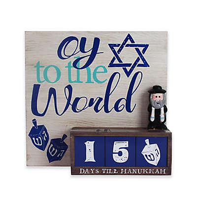 Oy to the World Hanukkah Countdown Calendar