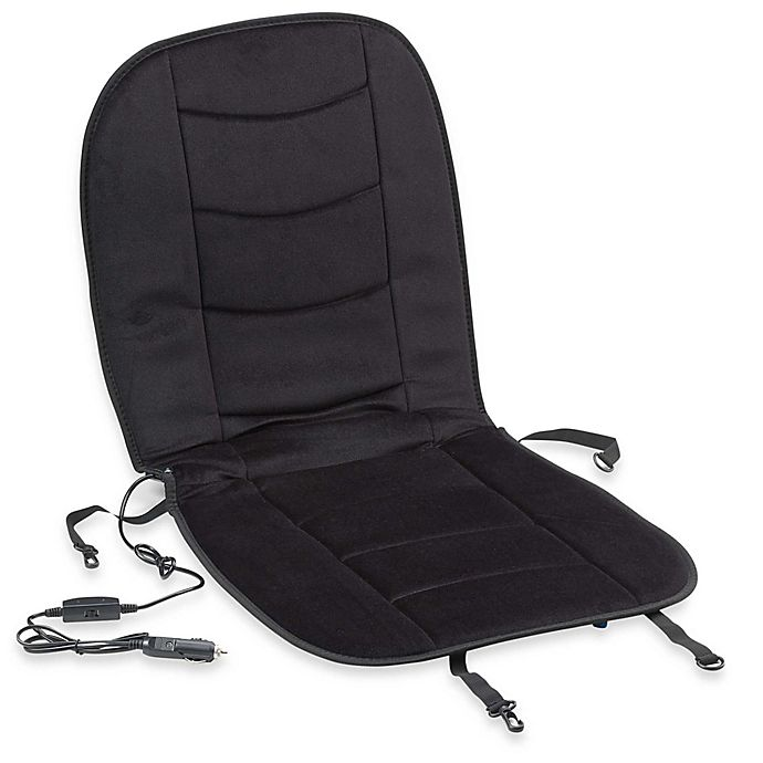 Alternate image 1 for Arctic X Heated Car Seat Cushion in Black