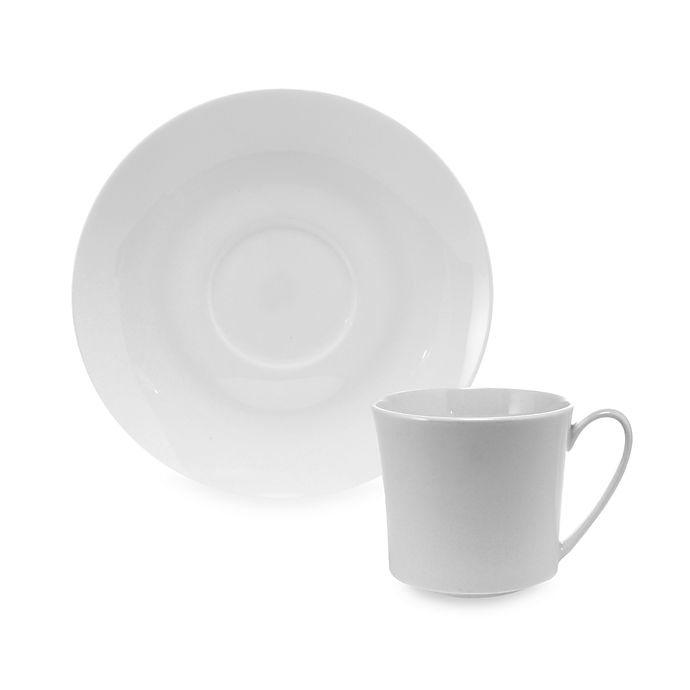 Alternate image 1 for Rosenthal Jade Latte Cup and Saucer