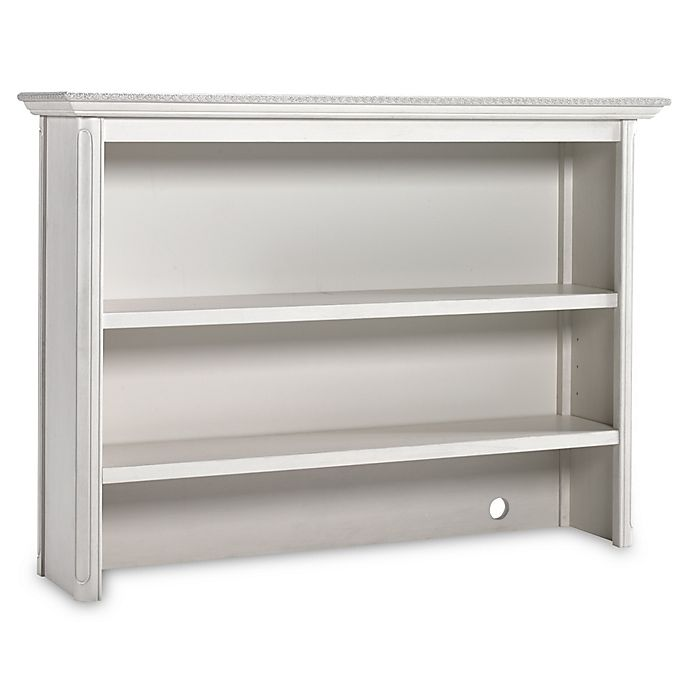 Alternate image 1 for Bel Amore Lyla Rose Bookcase/Hutch in White Willow