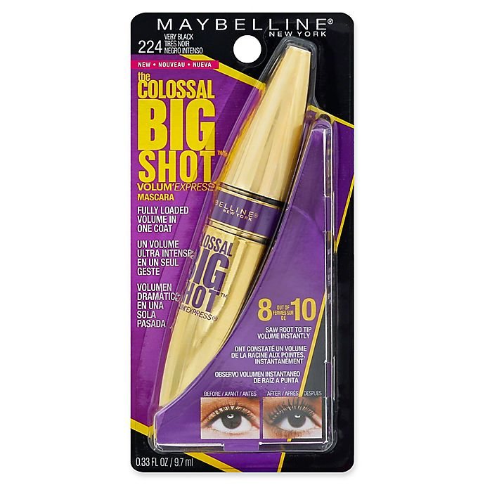 e7cb6adb141 Maybelline® The Colossal Big Shot™ Volum' Express .33 fl. oz. Mascara in  Very Black