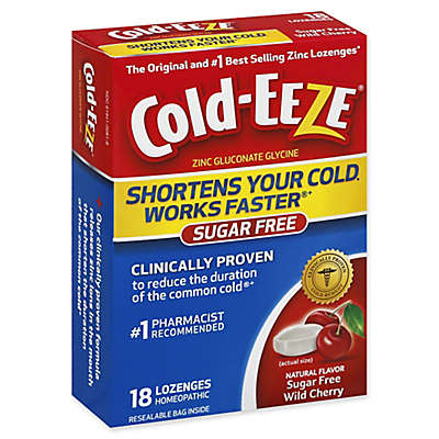 Cold-Eeze® 18-Count Zinc Lozenges in Sugar Free Wild Cherry